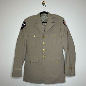 VTG US Army Military 2nd Infantry Wool Jacket
